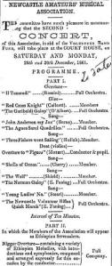 Fanings concert NC 21.12.1861