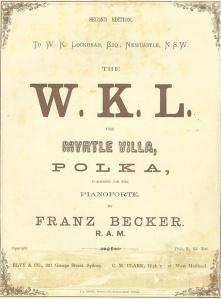 Myrtle Villa Polka by Franz Becker