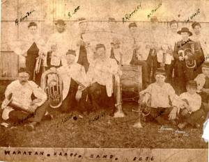Waratah Brass band-1886